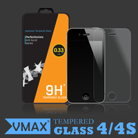 Tempered glass screen protector / glass screen protector for iPhone 4 4s 5 5s 5c screen protector(HC) oem/odm