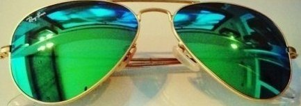 Cheap promotional custom logo Green Revo lens aviator sunglasses 16C028