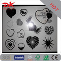 Custom high quality heart shaped solo black tattoos