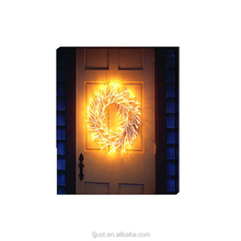 christmas decorations fiber optic wall art led canvas painting