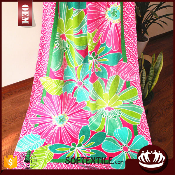 china supplier guangzhou wholesale for beach towel with great price
