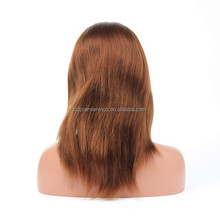 human hair full lace wig in dubai blonde hair wig short wig for black women