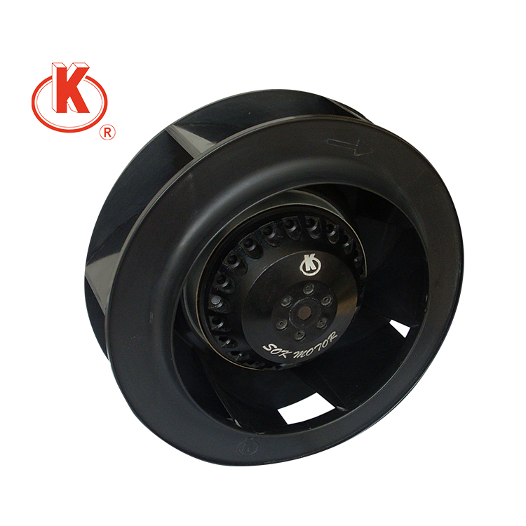 220V 180mm backward curved centrifugal fan blades blower