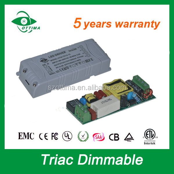 led driver dimbaar 24 volt mini triac dimmable 6w led tranformer adapter constant voltage saa