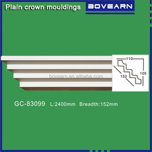 Cheap Finishing material/ PU foam ceiling cornice mouldings