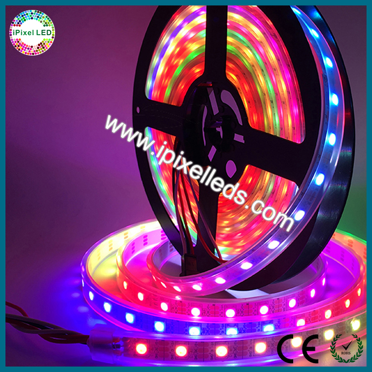 Individually addressable ws2812 led strip 144 leds/m