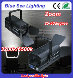 200w White zoom led theater light professional video studio lighting