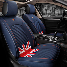 Excellent Stylish Flag Patterns Car Accessories Seat Cover