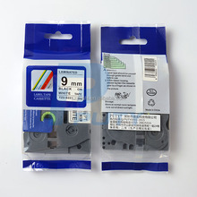 strong adhesive label tape 9mm tz s221 tze s221 tz s221 TZ laminated labeling tape for P-touch printer