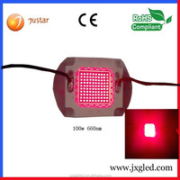 100w diodo para alternador 660nm 640nm LED for plant blooming