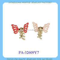 Litter girl china supplier hair accessories butterfly hair clip