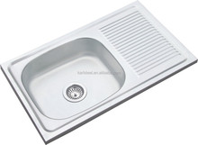Middle East Hot Sales 75*45*14cm Single Bowl Stainless Steel Kitchen Sink 304