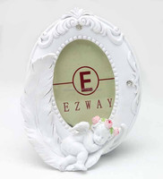 Factory Design Cute Decoration Angel Resin Sex Photo Frame