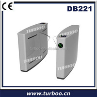 2014 Hot selling 304 stainless steel flap barrier smart touch control turnstile gate