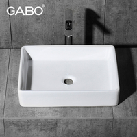 Counter Top Modern Ceramic Washbasin for Sale