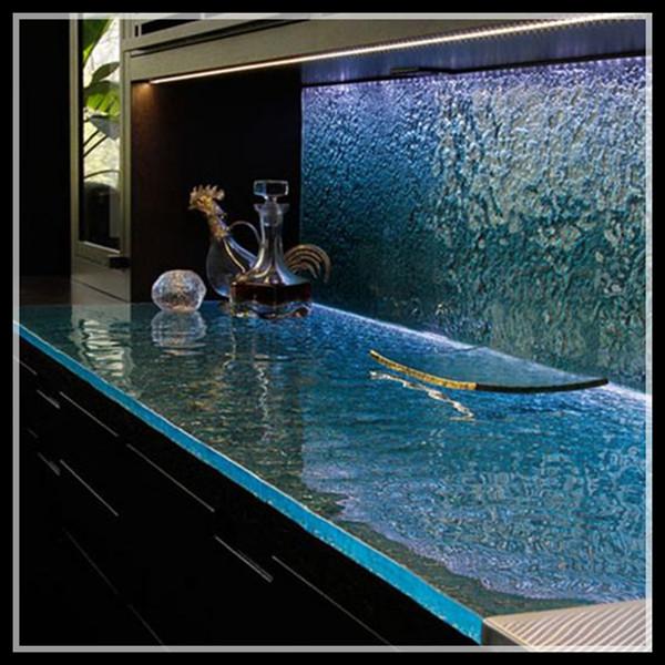 glas counterop k chenarbeitsplatte k che m bel m bel der. Black Bedroom Furniture Sets. Home Design Ideas