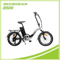 Electric Folding Rocket Bikes With Battery 24 Volt Lithium Battery Pack E Bike