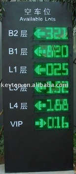 Outdoor LED Display/parking guidance system