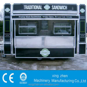 The best selling street food kiosk with CE