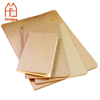 Cheap Soft Kraft Paper Cover A5 standard Blank notebook 2018