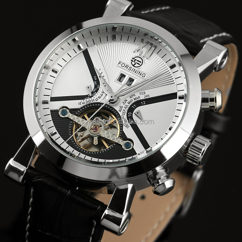 Men Hand Watch Tourbillon Mechanical Watch Automatic Movement WM352