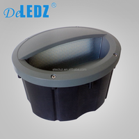 Outdoor wall light RIW30 30W IP65 round led step light recessed led wallpack light