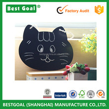 Bestgoal 2016 Cartoon design cat shape children blackboard