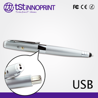 Secure Your Data 5 in 1 Custom Color and Logo Metal Pen U Disk
