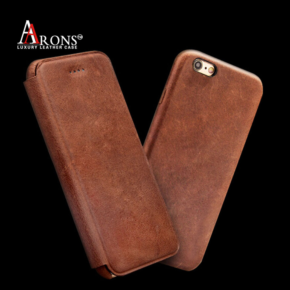 Wallet opening leather phone case for iphone 6 case high quality