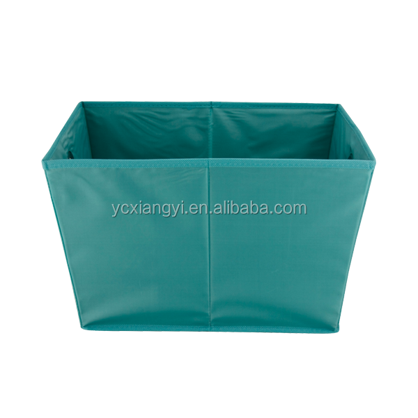 SimpleHouseware Foldable Cube Storage Bin with grommet and handle