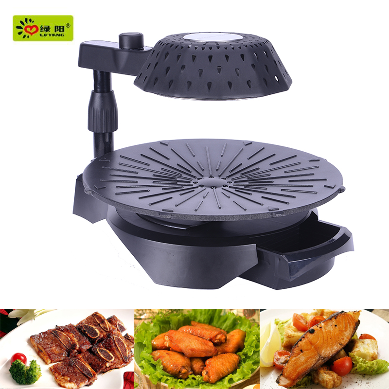 electric chicken grill no smoke and no radiation with infrared barbecue gril
