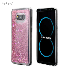 Flowing Glitter Sparkle Floating Liquid S8 TPU Mobile Phone Cover Case For Samsung Galaxy S8 Plus
