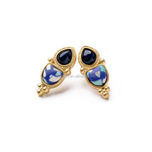 Fashion single stone earring designs for lady Wholesale SJ-0033