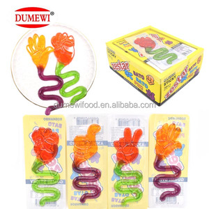 Funny Finger Guessing Fruit Jelly Candy Gummy