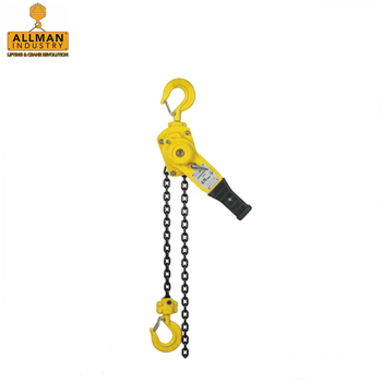 ALLMAN G80 G100 high loading chain / overload protection manual lifting hoist