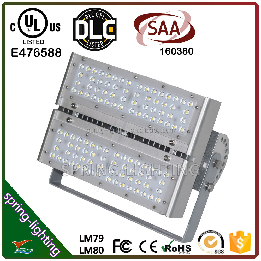 UL CUL DLC SAA listed 100w 200w 300w 400w 500w Dimmable Cool White High powered LED Flood Light