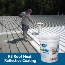 K8 UV Resistant Heat Reduction Ceramic Roof Coating