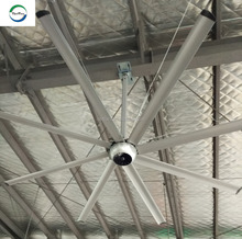OPT 8 Blade 8-14ft DC motor silent large hvls ceiling fan