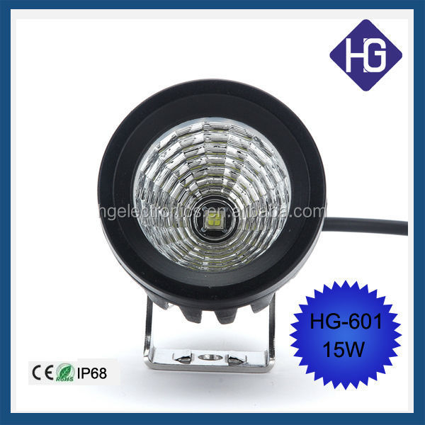 15 w high power ip68 led work light for rc 4x4 off road light