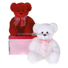lovely stuff pink bear colorful tedy bear