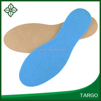 hot sales breathable PU leather anti sweat shoe insoles