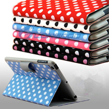 Folders flip Cover wholesale leather case for ipad mini manufacturer