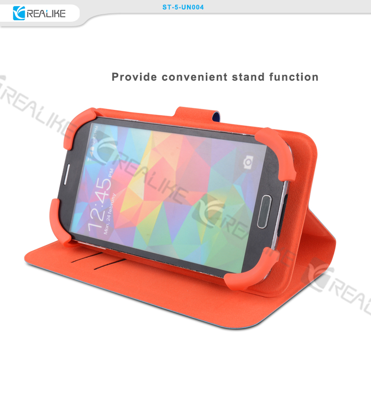 Hot sale holder universal silicone phone case for 5 inch 4g mobile phone