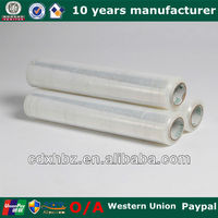 PE Stretch Film Color Plastic Film With Adhesive