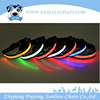 2016 newest USB battery charging rechargable LED pet light dog collar and leash