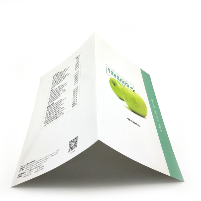 Custom company Brochures yellow pages brochure printing