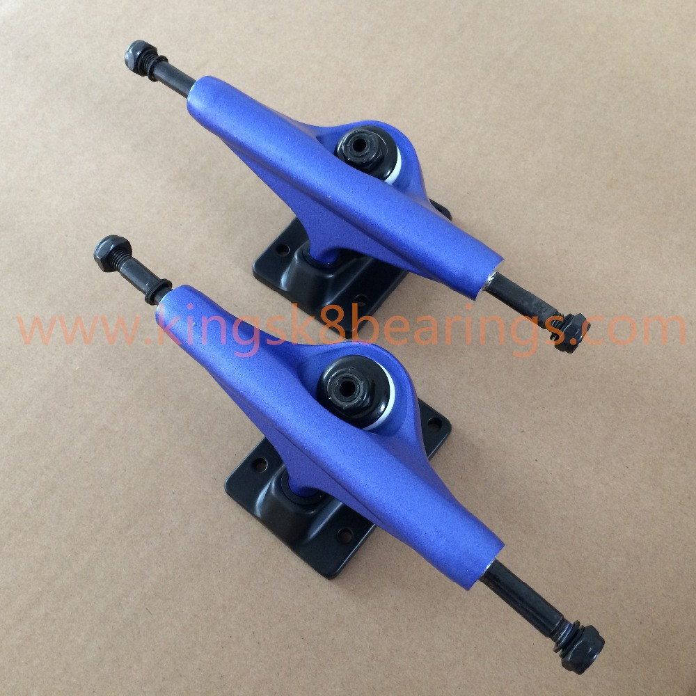 Magnesium Alloy High strength trucks,, New Blue Kingsk8 Skateboard Trucks