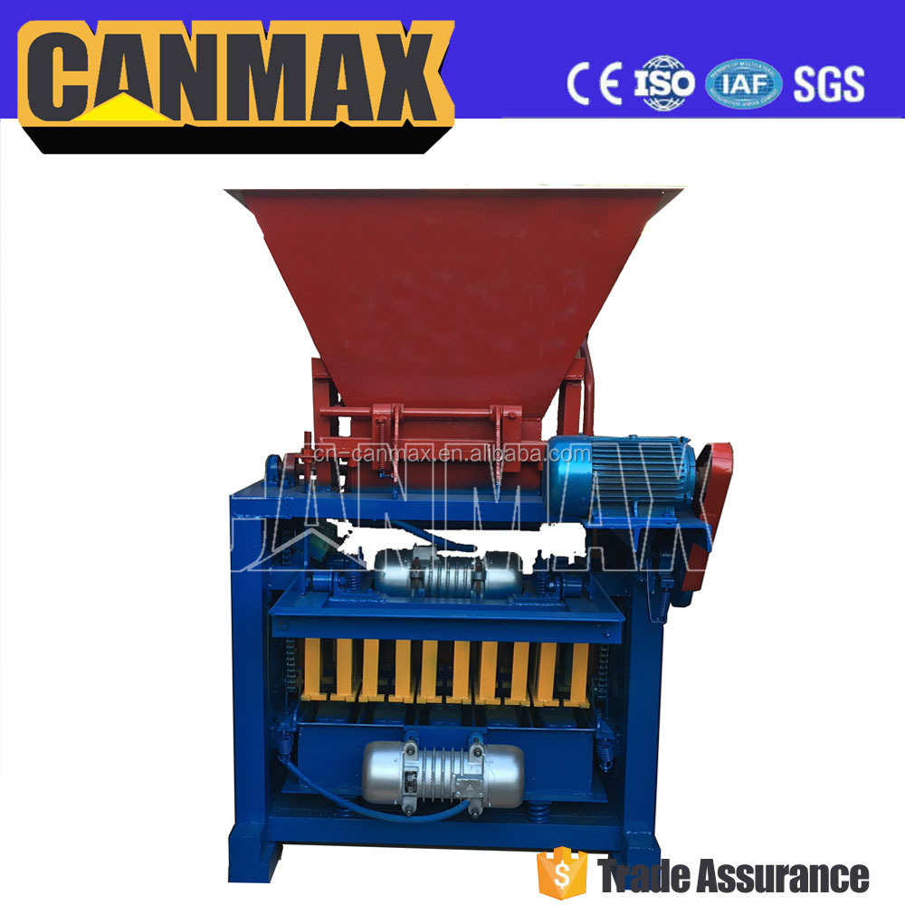 Electric single phase bricks machine cement interlocking brick making machine price