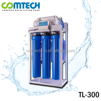 Commerical Use 300 GPD Reverse Osmosis Pure RO Water System Plant