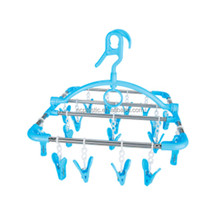 metal wing lift laundry drying rack with 18 pegs